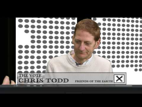 The Vote with Chris Todd from 'Friends of The Earth'