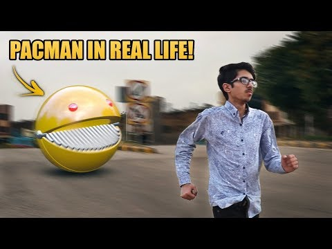 Pac-Man in Real Life   A Short film VFX Test
