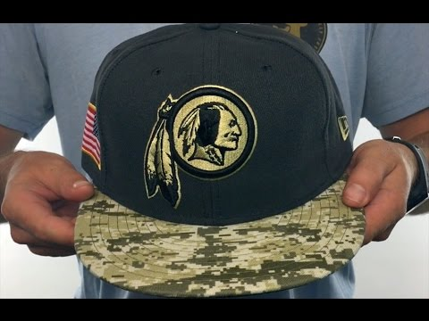 75f872f40cd ... canada redskins 2016 salute to service grey desert fitted hat by new era  806df 04210