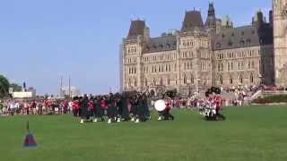 Ottawa, Ontario, Canada - Parliament Hill - Changing of the Guard Parade HD (2015)