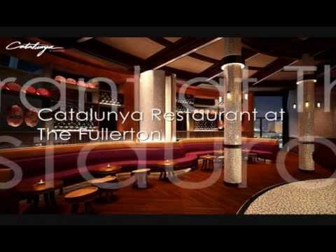 Singapore Romantic Restaurants Video Roundup