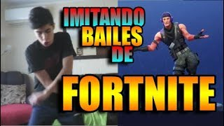 IMITATING FORTNITE BAILES IN REAL LIFE / ElCriss21