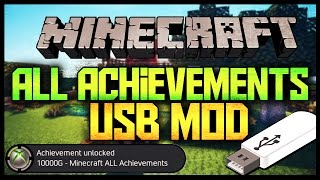 Minecraft - Xbox One/360 All Achievements USB Mod 2016 [Download]::