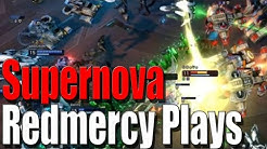 Supernova Gameplay - Strategy SciFi MOBA
