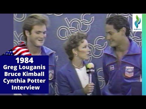 1984 Olym Greg Louganis Bruce Interview
