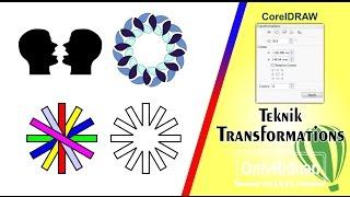 Cara Menggunakan Transformations Pada CorelDRAW Tutorial CorelDRAW