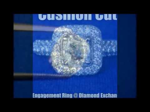 video:Cushion Cut Diamonds at Diamond Exchange Dallas
