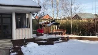 Голая Волочкова искупалась в ледяной воде на улице. ВИДЕО