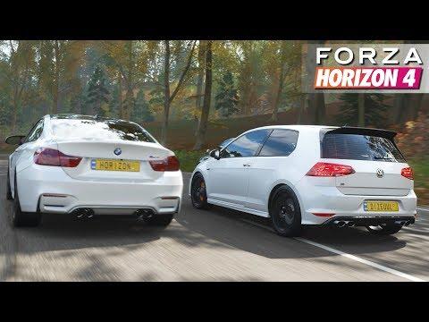 Forza Horizon 4 - Volkswagen Golf 7 R   Gameplay