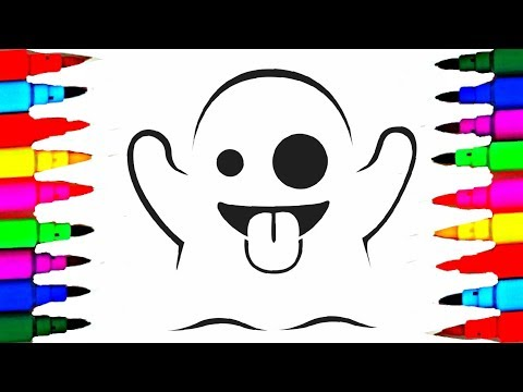 Casper The Ghost Coloring Pages