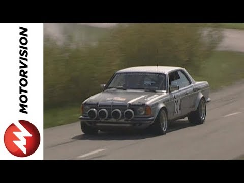 Mercedes benz w123 rally car youtube for Rally mercedes benz