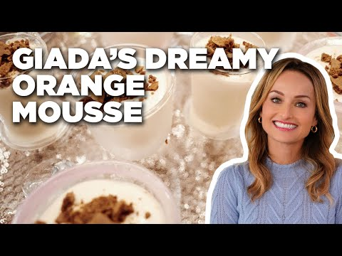 How To Make Giada's Dreamy Orange Mousse | Food Network