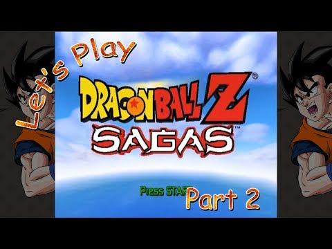 Let's Play Dragon Ball Z: Sagas - Part 2
