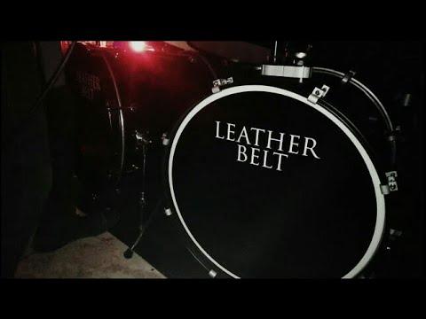 Leather Belt - Red Slay - (Live In Devastator Fest)