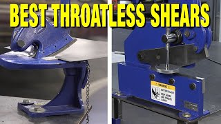 How to Pick a Throatless Bench Top Metal Shear for Cutting Thick or Thin Metal - Eastwood