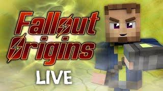 Minecraft FALLOUT ORIGINS #8.5 ( Live Modded Survival )