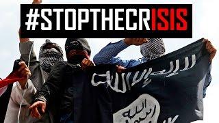 London & Paris unite against ISIS terror attacks 2015 #StopTheCrisis