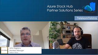 Azure Stack Hub Partner Solutions Series – TelekomTelstra