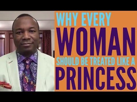 2016-10-30: WHY EVERY WOMAN NEEDS TO BE TREATED LIKE A PRINCESS
