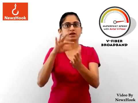 Airtel offer 100% more data to its home broadband users- Indian Sign Language News by NewzHook.com