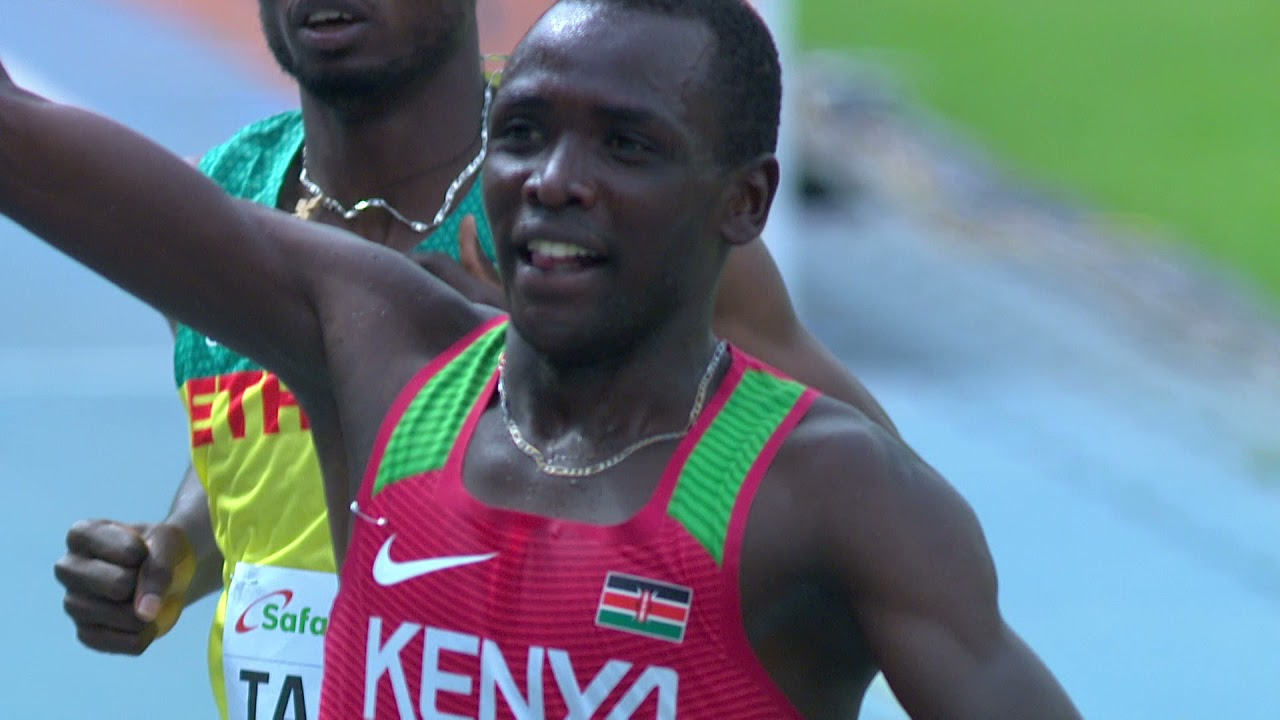 Download Amos Serem qualifies into 3000M steeplechase finals Race