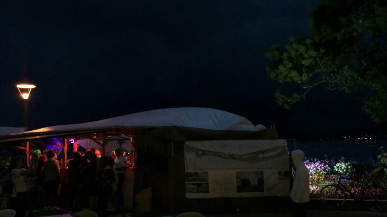 Schweres Unwetter Beim Promenadenfest In überlingen Youtube
