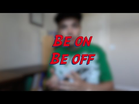 Be on vs. Be off - W14D1 - Daily Phrasal Verbs - Learn English online free video lessons