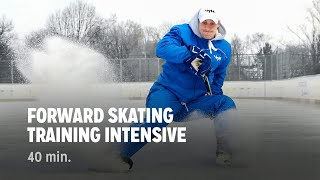 iTrain Hockey Forward Skating Training Intensive - Train The Trainers + Practice Plan