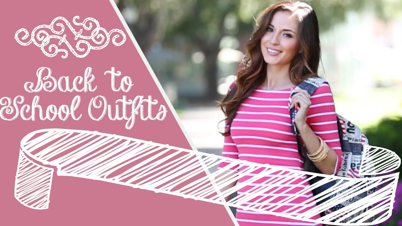 First Day Of School Outfits For The New School Year 2014 2015