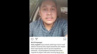 Gambar cover Permintaan Maaf Reporter Liga 1 Shope Indonesia Kepada Fans Persita || Semog Kelak tak Terulang