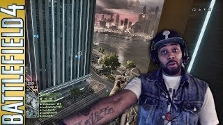 Battlefield 4 For PS4 FaceCam - I Play The Objective (Code For Being Ass) | Conquest On DawnBreaker