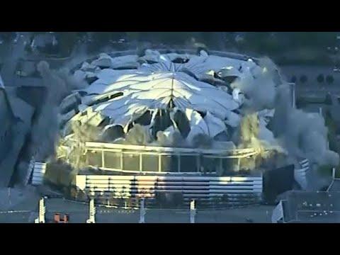 Georgia Dome Goes Boom