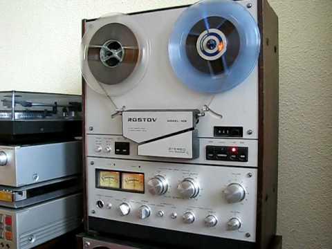 Магнитофон Ростов-105