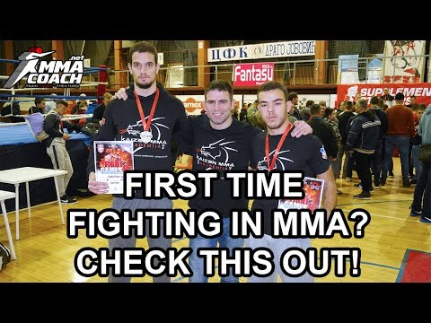A Guide To Competing In MMA For The First Time