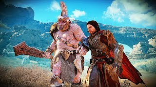 SHADOW OF WAR - UNIQUE BONE COLLECTOR OVERLORD DIFFICULTY NEMESIS IN DESERT