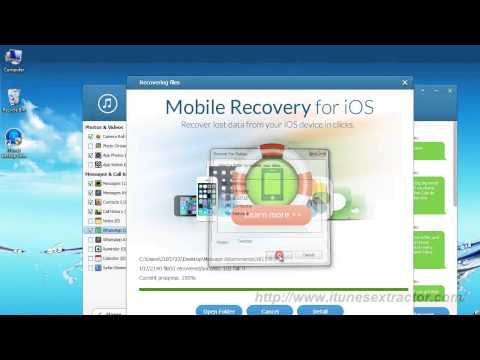 How to Extract iTunes Backup Files Free