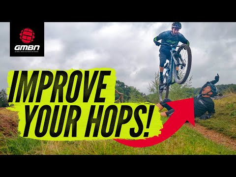 How To Improve Your Bunny Hop Technique On A Mountain Bike | MTB Skills