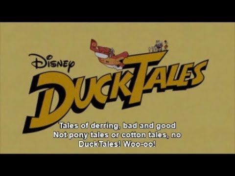 DuckTales 2017 Theme Song in English - Nightcore Version With Real English Lyrics!