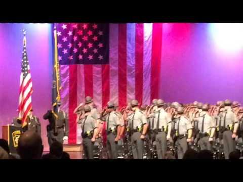 Pennsylvania State Police Cadet Graduation