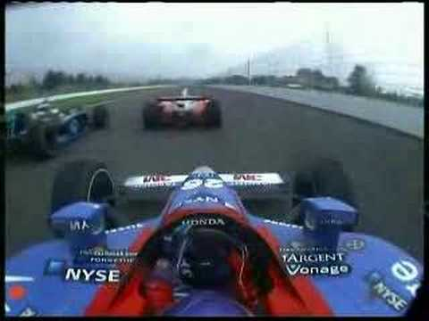 Onboard Marco Andretti Crash at Indy 500 2007