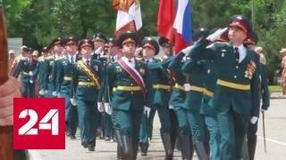 Российская военная база в Таджикистане отмечает 12-летие создания