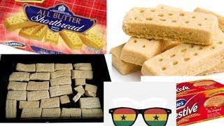 Ghana Digestive Shortbread recipe
