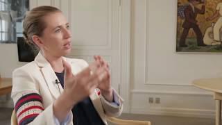 Mette Frederiksen gør status på den politiske situation