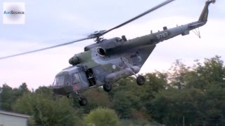 Mil Mi-8 Landing & Takeoff @ U.S. Army Garrison Baumholder, Germany