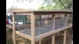 Build A Rabbit Hutch: The Roof