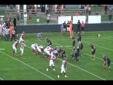 Jaleen McNeil Hermitage High School Football Highlights 2012