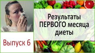 Результаты ПЕРВОГО месяца на диете. Не только позитив! Выпуск 6
