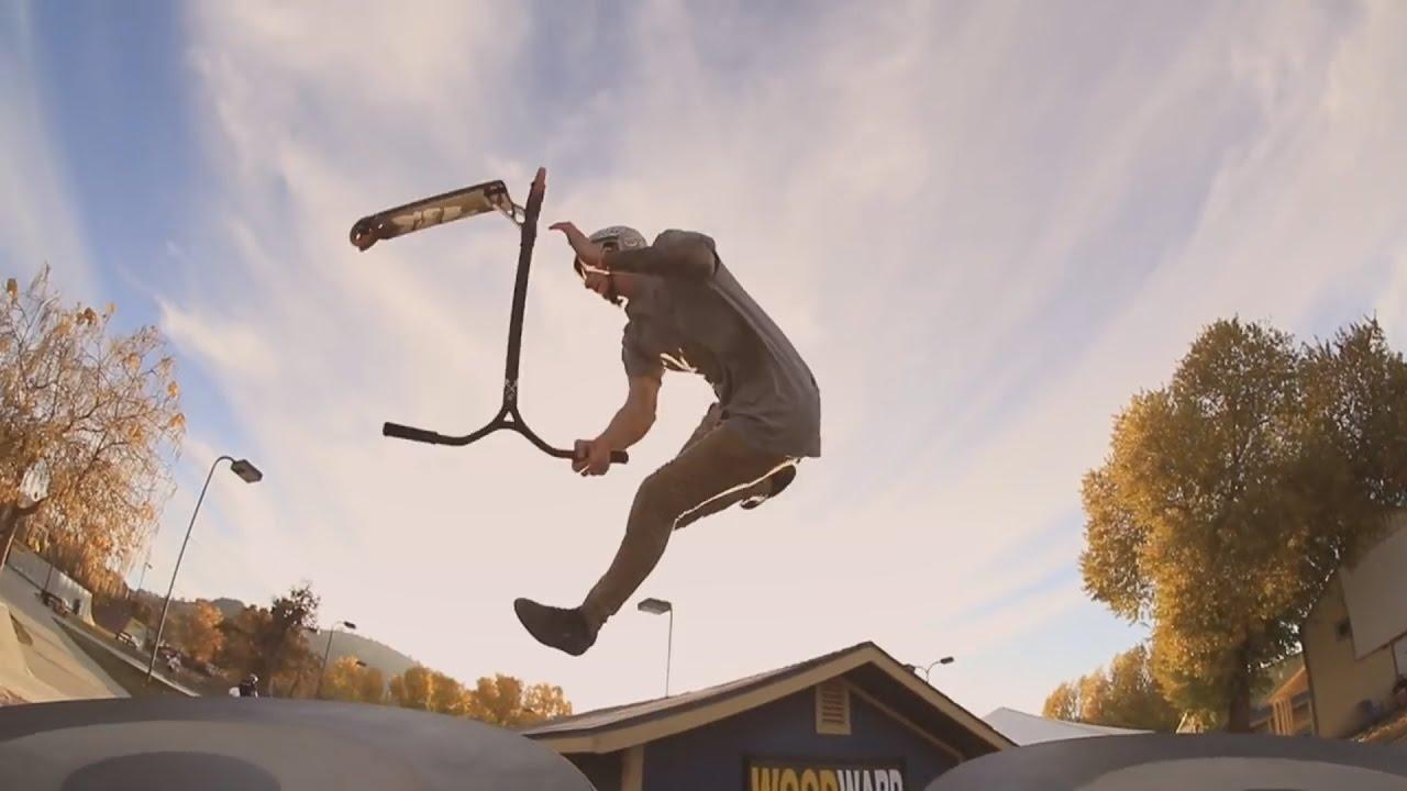 Insane Scooter Stunts 2017 - YouTube