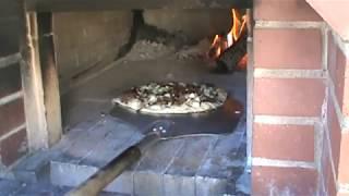 Filet Mignon Carmelized Onion Gorgonzola Pizza