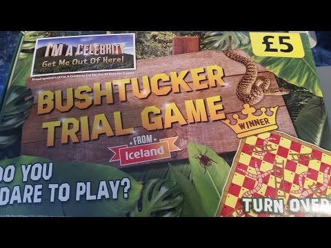 Iceland I'm a Celebrity Bushtucker Trial Game.